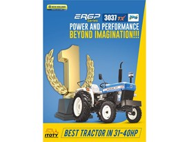 Best Tractor between 31-40 HP: New Holland 3037 TX