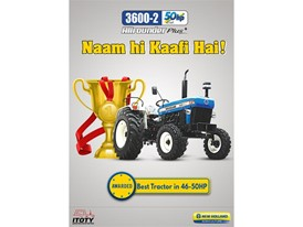Best Tractor between 46-50 HP: New Holland 3600-2 All Rounder Plus