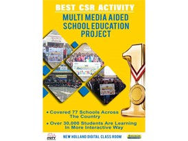 Best (CSR) Initiative: Multi-Media School Education Project- New Holland Digital Classroom