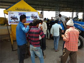 New Holland Agriculture installs a drinking water booth at agriculture mandi in Vidisha district, Madhya Pradesh