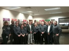 Colleagues from our Burlington plant who achieved Bronze Level designation in World Class Manufacturing