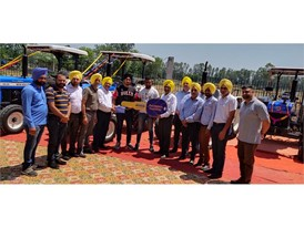 New Holland Customer Event at M/s Kailash Autoworld in Jalandhar