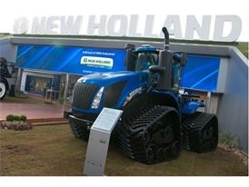 Maior trator fabricado pela New Holland, o T9 é destaque da marca nesta Agrishow 2019
