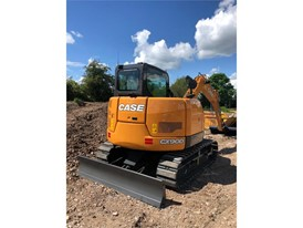 CASE Construction Equipment sells its first stage V excavator in Europe