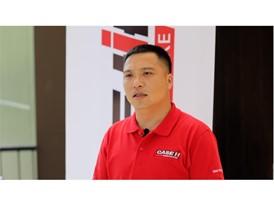 凯斯在中国的经销商广西南宁宝亮升维科技工程有限公司销售总经理何峰评