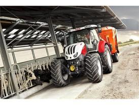 Steyr Profi 6145 Feeding Wagon