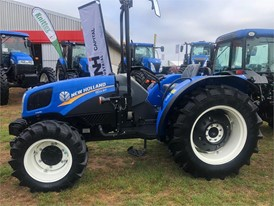 New Holland TD3.50F tractor at Nampo Cape 2019