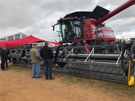 Case IH Axial-Flow 250 at Nampo Cape  2019