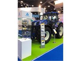 Газомоторные решения New Holland для сельскохозяйственной отрасли представили в рамках IX Петербургского