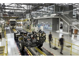 The IVECO commercial vehicles manufacturing facility in Sete Lagoas, Brazil,