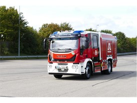 The Magirus CNG Fire Engine