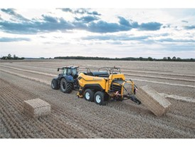 New Holland BigBaler 1290 High Density delivers all-out efficiency and productivity