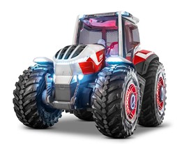 The New STEYR Concept a hybrid powered concept tractor
