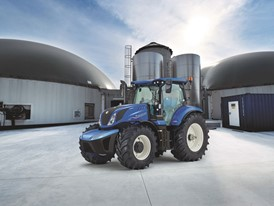 New Holland T6 Methane Power Tractor Sustainable Tractor of the Year 2020