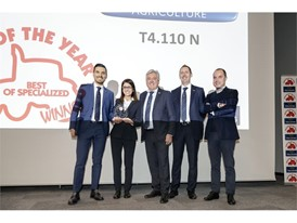 New Holland T4 V/N/F tractor range wins 'Tractor of the Year 2020' award in the Best of Specialized category