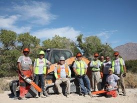 Sonsray Machinery Supports Team Rubicon Wildland Fire Cleanup in Las Vegas