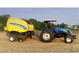New Holland Roll-Belt™ 180, one of the biggest round balers in India