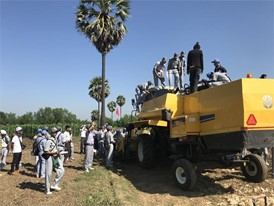 New Holland live field demonstrations show the advantages of modern mechanisation