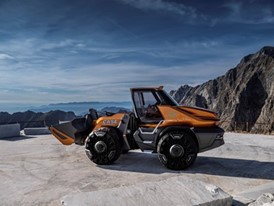 CASE Wins 2019 Good Design Award for Methane-Powered Wheel Loader Concept, ProjectTETRA