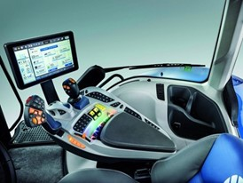 The New Holland SideWinder II Armrest won a coveted AE50 2020 award issued by the ASABE