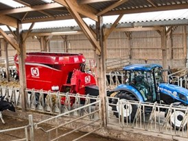 Кормораздатчики-смесители Kongskilde VM 18-2 Multi и VM 24-3 эффективное решение для крупных животноводческих хозяйств