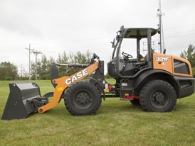 CASE F Series Compact Wheel Loaders Now Available with Open Canopy Option