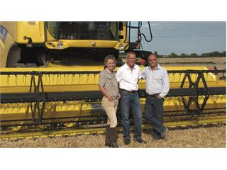 New Holland sets the pace at BBC Harvest