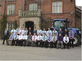 Graduation day celebrations for New Holland apprentices