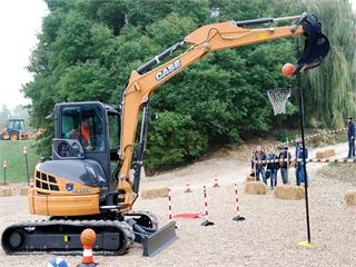Belgian Operator Ropes 2013 Case Rodeo Title