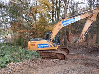 Case Construction Equipment C series Excavators boost Morris Leslie hire fleet