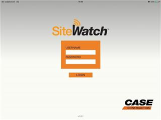 New CASE SiteWatch™ iPad App Optimizes Access to Equipment Data for Monitoring in the Field and Away from the Office