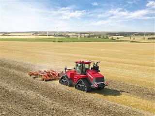 Increased added value through efficiency boost for the Case IH Quadtrac: 'Flying start' for the original in the new model year