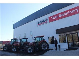 Grand Opening of dealership in Ukraine further strengthens co-operation between Case IH and Titan Machinery