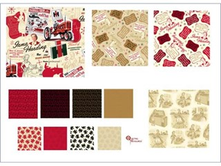 Eleven New Fabric Prints Celebrate Case IH History
