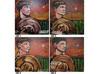"""Case IH Offers Bounty to Winning Bidders of Four """"Year of the Farmer"""" Paintings"""