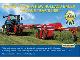 New Holland Announces The Gold Standard in Haying and 1st Cut Competition.
