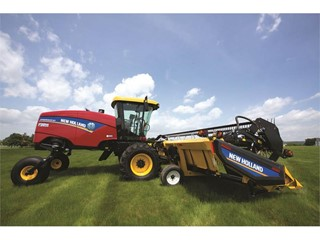 New Holland Speedrower® Self-Propelled Windrower Tuned for Performance