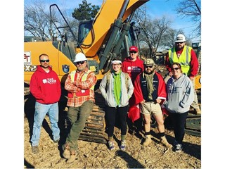 OCT Equipment Donates CTL and Excavator to Home Demolition for Korean War Veteran