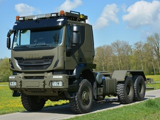 Iveco Defence Vehicles to deliver first 400 units in Euro 6 truck order to the Swiss Armed Forces