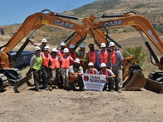 Sonsray Machinery Donates Heavy Equipment to Team Rubicon for Operator Training in San Diego National Wildlife Refuge