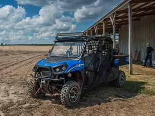 New Holland Agriculture and Textron Specialized Vehicles Unveil New Rustler™ 850 4-Seater Model and Special Edition Camouflage Wrap