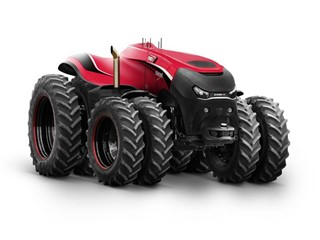 Case IH Autonomous Concept Tractor Receives GOOD DESIGN Award