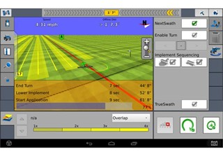 Case IH Nextswath - Perfect Turning by App