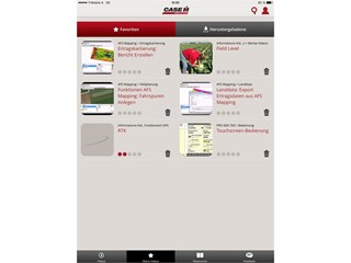 Precision Farming Know-how by App New AFS Academy App from Case IH Now Available