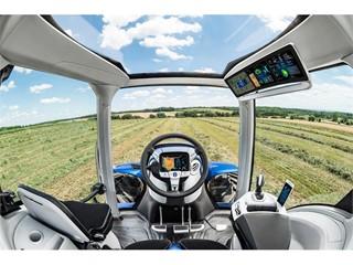 纽荷兰展示甲烷动力概念拖拉机