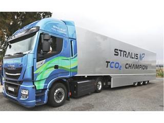 IVECO Stralis NP проедет через всю Европу из Лиссабона в Санкт-Петербург в рамках ралли «Голубой коридор — 2017: Иберия — Балтия», организованного в поддержку природного газа