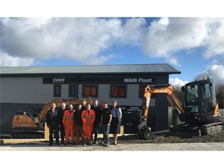 CASE dealer M&M Plant opens its £1M new head office and depot