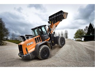 CASE show a strong product offering for roadbuilding and quarrying at Hillhead