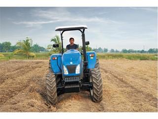 For Myanmar's farmers, New Holland's TT4.75 tractor makes even the hardest tasks easier
