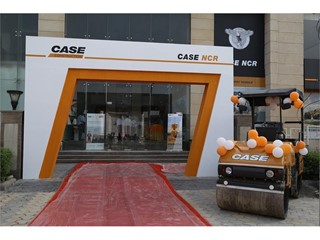 CASE Construction Equipment inaugurates first Company owned Showroom in India